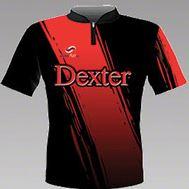 Dexter Mirach Red Bowlingshirt