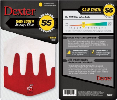 Dexter S5 Saw Tooth Sohle