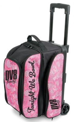 DV8 Freestyle Double Roller Pink Swirl
