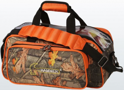 Hammer Double Tote Hammerflage/Orange