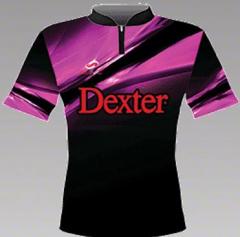 DEXTER Wega Pink Bowlingshirt
