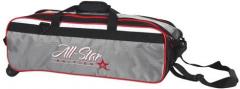 Roto Grip 3- Ball Tasche All-Star Travel Schwarz/Weiss/Rot