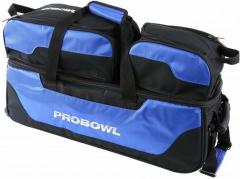 ProBowl Triple Tote mit Schuhtasche Schwarz/Blau