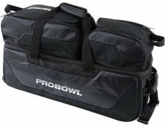 ProBowl Triple Tote mit Schuhtasche Schwarz