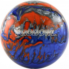 Pro Bowl Blau/Orange/Silber