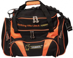 Hammer Premium Deluxe Double Tote Black/Orange