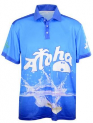 Aloha Bowling Polo Shirt Pin