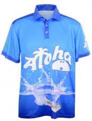 Aloha Bowling Polo Shirt Pin