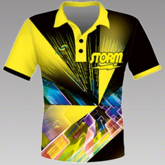 Storm Speed Yellow Polohemd
