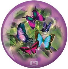 Viz-A-Ball Butterflies Glow