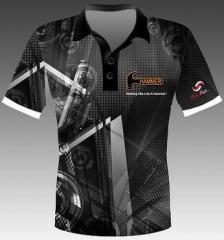 Hammer Flage Black Polohemd