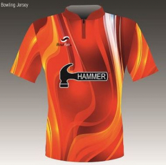 Hammer Flame Bowlingshirt