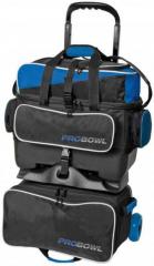 ProBowl 4-Ball Roller Schwarz/Blau